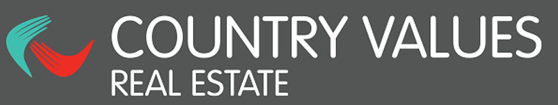 Country Values Real Estate - logo